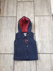 Girls gillet 4-5 years
