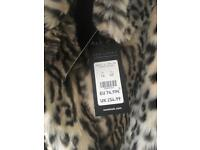 Fur coat from new look