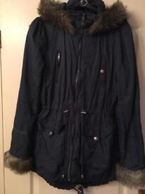 Ladies size 12 petite coat in good condition