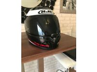 HJC Lorenzo motor bike helmet (dark and clear visor) £145 ono