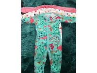 Brand new next sleepsuits 3 pack