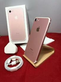 IPHONE 7 32gb Unlocked Immaculate Condition Rose Gold