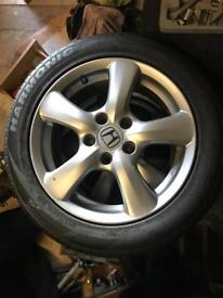 Honda Civic Alloys And Tyres