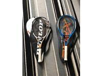 Dunlop Tennis Rackets x 2