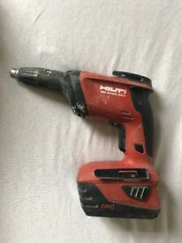 HILTI SD 5000 A-22 Drill with spare battery