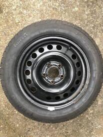Full size spare with Pirelli p6000 tyre