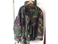 British Army Gortex Jacket and Trousers - Green