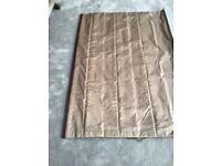 Beautiful Tula silk roman blind with winder mechanism