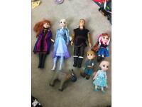 Frozen Barbie dolls