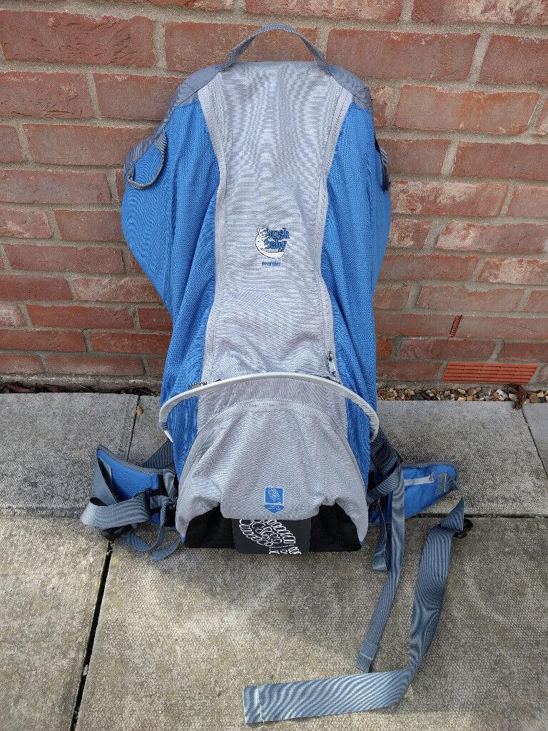 8920d888885 Bushbaby Premier toddler child carrier backpack. As new.