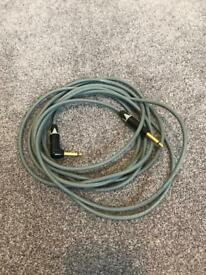 Neutral van damme 5m brand new high quality guitar cable