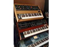 Wanted - Vintage Analogue Synths - Moog - Minimoog - Arp