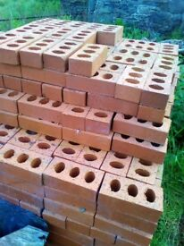 Engineering Bricks Class B Red Perforated 65 mm - over 500