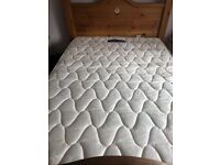 Double bed & mattress