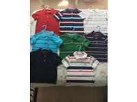 Tommy Hilfiger polo tops age 2