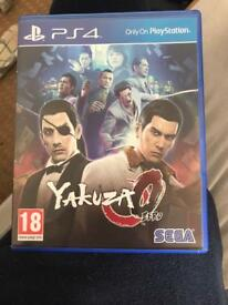 Yakuza 0 for ps4