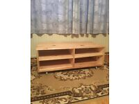 TV unit / cabinet for sale. Solid wood ready to be painted.