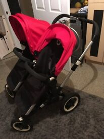 REDUCED! Bugaboo donkey duet with lots of extras