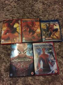 Spider-Man 5 Film Collection
