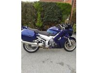 Yamaha FJR Sports Tourer 2004 Blue with Panniers