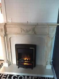 Fire surround and fire 🔥must go by 20th June 🔥 not selling separately