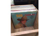 30 Elvis Vinyl L.P incl Box sets