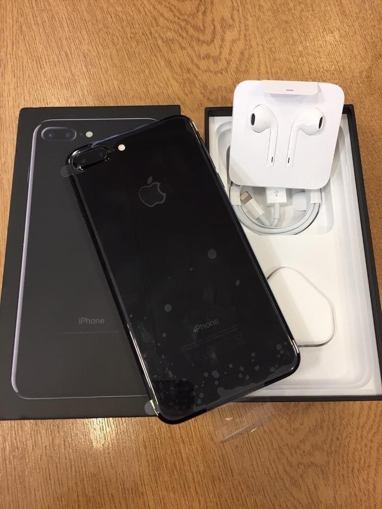 APPLE IPHONE 7 PLUS 256GB JET BLACK UNLOCKED BRAND NEW