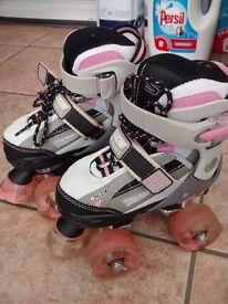Roller Skates - SFR Typhoon quad skates - adjustable size 8-11 children's