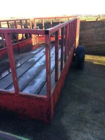 Silage Feed Trailer