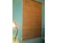 "IKEA WOODEN BLINDS - 39 1/2"" WIDE - GOOD CONDITION"