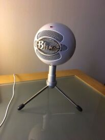 Snowball iCE USB Cardioid Microphone with Adjustable Stand With Pop Filter