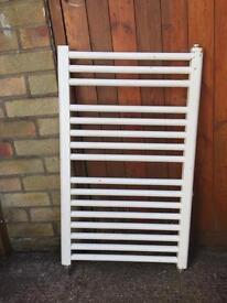 White Heated Towel Rail Radiator