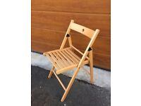 Ikea Terje Birch Folding Chair