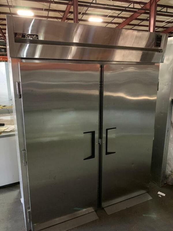 True TG2FRI-2S Stainless Steel 2 Door Roll In Freezer