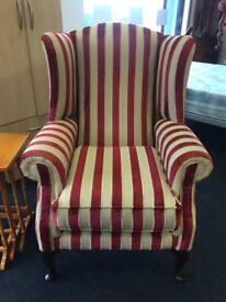 Quality Wingback armchair