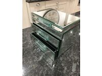 Mirrored glass jewellery box from Next