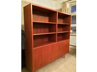 60s/70s Danish Teak Poul Hundevad Bookcase/ Cabinet/ Shelving Unit (NEEDS NEW HOME) £240/OBO