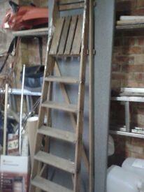 Wooded Step Ladder