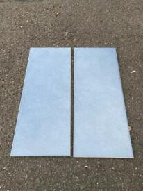Evona Cement Matt Stone effect Ceramic Wall Tile, Pack of 11, (L)200mm (W)500mm, 23 packs 25 sq M.