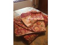 King Size Bed Linen (7 Pieces) - Includes A Padded Bed Cover