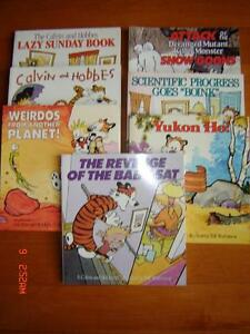 Vintage Calvin and Hobbes Comic Strip Books