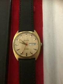 Bulova Swiss made automatic watch circa 1971