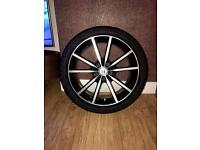 "Honda Civic 18"" alloy wheels"