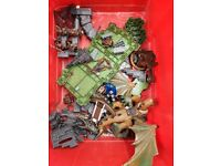 Dragon fort lego type bundle