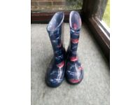 Kid's wellies from Next size 12