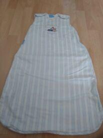Boys 1 tog summer sleeping bag 0-6 months