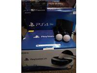 PlayStation pro 1tb and PSVR bundle