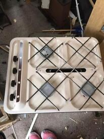 Caravan camper van conversion cooker hob and grill