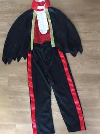 Age 7-8 Dracula Halloween costume