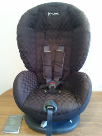 CAR SEAT, MAMAS AND PAPAS,UNIVERSAL,PRO-TEC,SUITABLE FROM 9 MONTHS TO 4 YEARS OLD,INSTRUCTION MANUAL